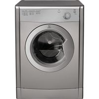 INDESIT IDV75S Vented Tumble Dryer - Silver, Silver