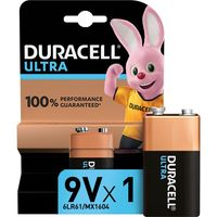 DURACELL Ultra Power Alkaline 9V Battery