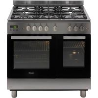 CANDY CCG9D52PX Dual Fuel Range Cooker - Stainless Steel, Stainless Steel