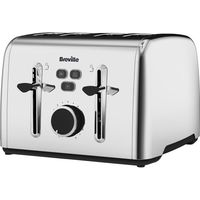 BREVILLE Colour Notes VTT735 4-Slice Toaster - Stainless Steel, Stainless Steel
