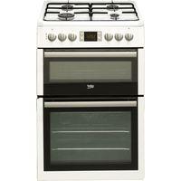 BEKO Select BDVG675NTW 60 cm Gas Cooker - White, White