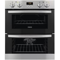 ZANUSSI ZOE35511XK Electric Built-under Double Oven - Stainless Steel, Stainless Steel
