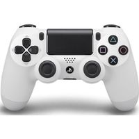 SONY DualShock 4 Wireless Gamepad - White, White
