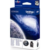 BROTHER LC900BK Black Ink Cartridge, Black