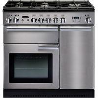 RANGEMASTER Professional 90 Gas Range Cooker - Stainless Steel & Chrome, Stainless Steel