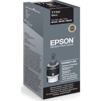 EPSON T7741 Black Ecotank Ink Bottle - 140 ml, Black