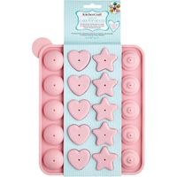 SWEETLY DOES IT 4-Shape Cake Pop Mould - Pink, Pink