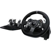 LOGITECH Driving Force G920 Racing Wheel - Black, Black