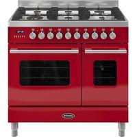 BRITANNIA Delphi 90 RC9TGDERED Duel Fuel Range Cooker - Red, Red