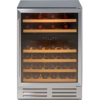 STOVES 600SS WC MK2 Wine Cooler - Silver, Silver