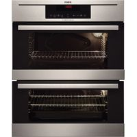 AEG NC7013021M Electric Double Oven - Stainless Steel, Stainless Steel