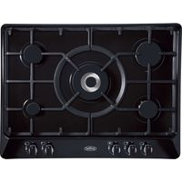 BELLING GHU70GC Gas Hob - Black, Black