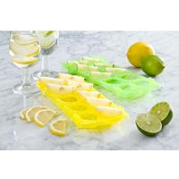 EDDINGTONS Ice N Slice Trays - Yellow & Green, Yellow