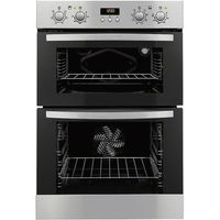 ZANUSSI ZOD35712XK Electric Double Oven - Stainless Steel, Stainless Steel