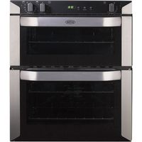 BELLING BI70FP Electric Built-under Double Oven - Stainless Steel, Stainless Steel