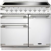 RANGEMASTER Elise 100 Induction Range Cooker - White & Chrome, White