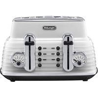 DELONGHI CTZ4003W Scultura Delonghi Toaster- White, White