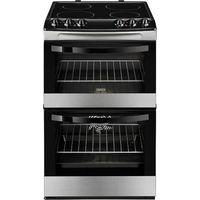 ZANUSSI ZCV46000XA 55 cm Electric Cooker - Black, Black