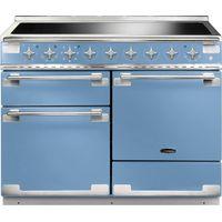 RANGEMASTER Elise 110 Electric Induction Range Cooker - China Blue & Chrome, Blue