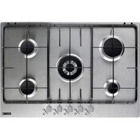 ZANUSSI ZGG75524SA Gas Hob - Stainless Steel, Stainless Steel