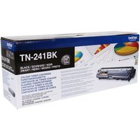 BROTHER TN241BK Black Toner Cartridge, Black