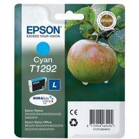 EPSON Apple T1292 Cyan Ink Cartridge, Cyan