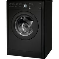 INDESIT EcoTime IDVL75BRK Vented Tumble Dryer - Black, Black