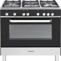 KENWOOD CK305G Gas Range Cooker - Black, Black