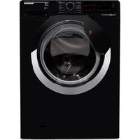 HOOVER DXA59BC3 Washing Machine - Black & Chrome, Black