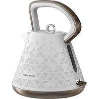 MORPHY RICHARDS 108102 Prism Kettle - White, White