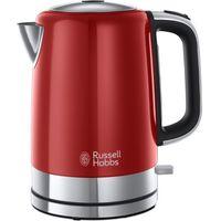RUSSELL HOBBS Windsor 22821 Jug Kettle - Red, Red
