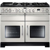 RANGEMASTER Excel 110 Dual Fuel Range Cooker - Ivory & Chrome, Ivory