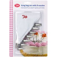 TALA Icing Bag with 8 Nozzles