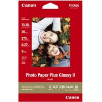 CANON 130 x 180 mm Photo Paper Plus Glossy II 20 Sheets