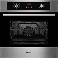 LOGIK LBMFMX15 Electric Oven - Stainless Steel, Stainless Steel