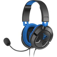 TURTLEBEACH Ear Force Recon 60P Gaming Headset - Black & Blue, Black