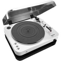LENCO L-85 Turntable - USB, White, White