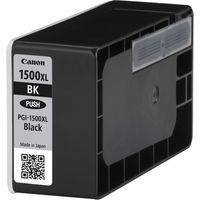 CANON 1500XL Black Ink Cartridge, Black