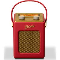 ROBERTS Revival Mini Portable DAB Radio - Red & Gold, Red