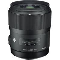 SIGMA 35 mm f/1.4 DG HSM A Standard Prime Lens - for Canon