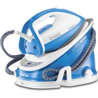 TEFAL Effectis Easy GV6760 Steam Generator Iron - Blue & White, Blue