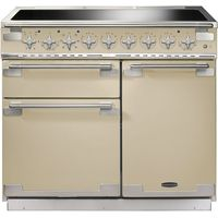 RANGEMASTER Elise 100 Electric Induction Range Cooker - Cream & Chrome, Cream