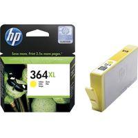 HP 364XL Yellow Ink Cartridge, Yellow