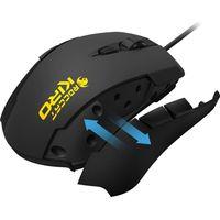 ROCCAT Kiro Optical Gaming Mouse - Black, Black
