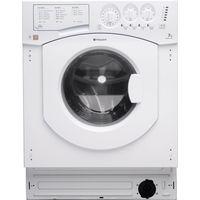 HOTPOINT BHWM1492 Integrated Washing Machine - White, White