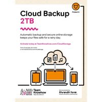 KNOWHOW Cloud Storage 2 TB Backup Service