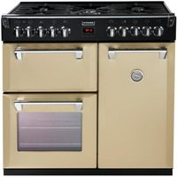 STOVES Richmond 900DFT Dual Fuel Range Cooker - Champagne