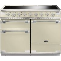 RANGEMASTER Elise 110 Electric Induction Range Cooker - Cream & Chrome, Cream