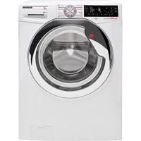 HOOVER Wizard DWTL68AIW3 Washing Machine - White, White