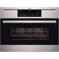 AEG KM8403021M Built-in Combination Microwave - Stainless Steel, Stainless Steel